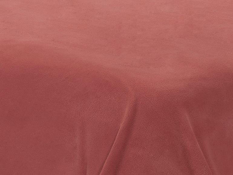 Jogo de Cama Casal Plush feito de Manta de Microfibra - Conforto Rosa Brick - Dui Design