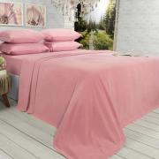 Jogo de Cama Casal Plush feito de Manta de Microfibra - Conforto Rosa Velho - Dui Design