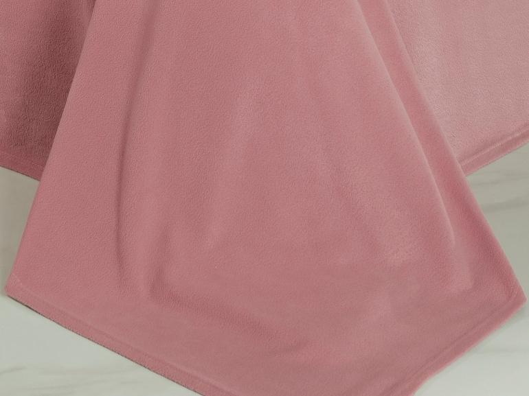 Jogo de Cama Queen Plush feito de Manta de Microfibra - Conforto Rosa Velho - Dui Design
