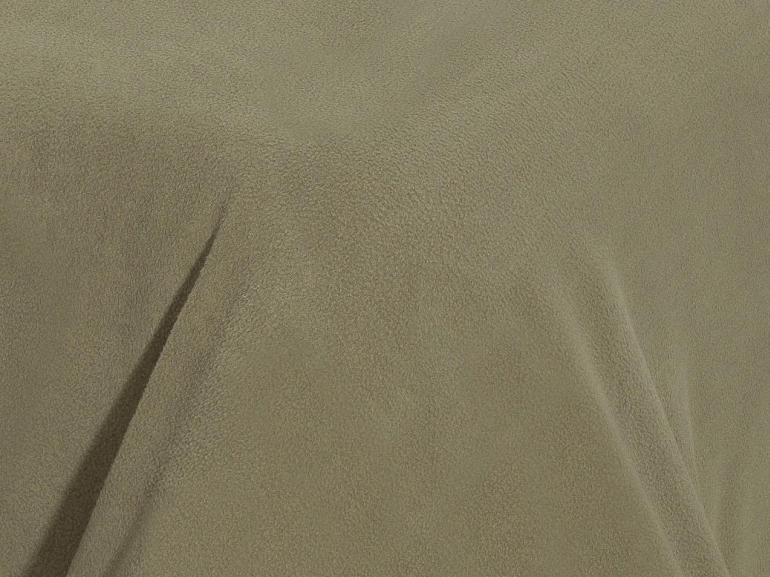 Jogo de Cama Solteiro Plush feito de Manta de Microfibra - Conforto Taupe - Dui Design