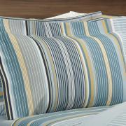 Jogo de Cama Queen 150 fios - Continental Azul - Dui Design