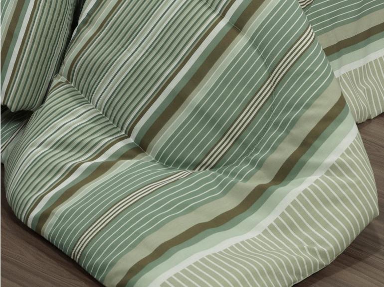 Jogo de Cama Casal 150 fios - Continental Taupe - Dui Design