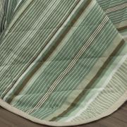Kit: 1 Cobre-leito Casal + 2 Porta-travesseiros 150 fios - Continental Taupe - Dui Design