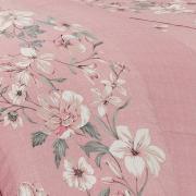 Edredom King 150 fios - Danete Rosé - Dui Design