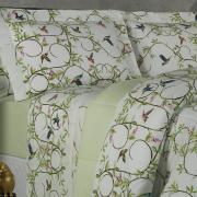Jogo de Cama Queen Percal 200 fios - Danna Verde - Dui Design