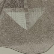 Kit: 1 Cobre-leito King Bouti de Microfibra Ultrasonic Estampada + 2 Porta-travesseiros - Danton Castanho - Dui Design
