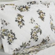 Kit: 1 Cobre-leito Solteiro + 1 Porta-travesseiro Percal 180 fios - Dany Sephia - Dui Design