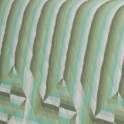 Kit: 1 Cobre-leito Solteiro + 1 Porta-travesseiro Percal 200 fios - Darwin Confrei - Dui Design