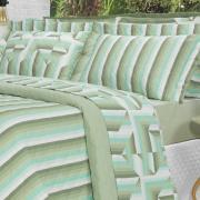 Kit: 1 Cobre-leito Casal + 2 Porta-travesseiros Percal 200 fios - Darwin Confrei - Dui Design