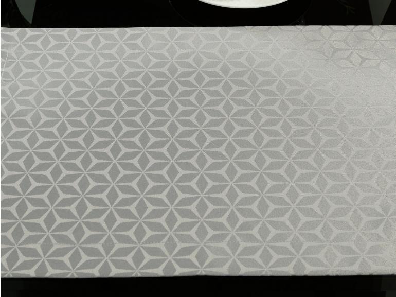 Jogo Americano 4 Lugares (4 peças) Fácil de Limpar 35x50cm - Davos Cinza - Dui Design