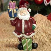 Decoração Natal de Poliresina com 17,3cm de altura - Noel Presentes - Dui Design