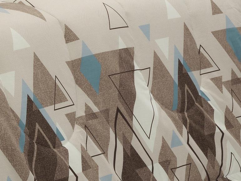 Enxoval King com Edredom 5 peças Percal 200 fios - Denzel Noz Moscada - Dui Design