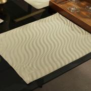 Jogo Americano 4 Lugares (4 peças) Fácil de Limpar 35x50cm - Dijon Bege - Dui Design