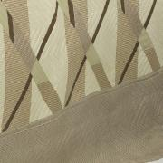 Kit: 1 Cobre-leito Casal Bouti de Microfibra Ultrasonic Estampada + 2 Porta-travesseiros - Dimitre Bege - Dui Design