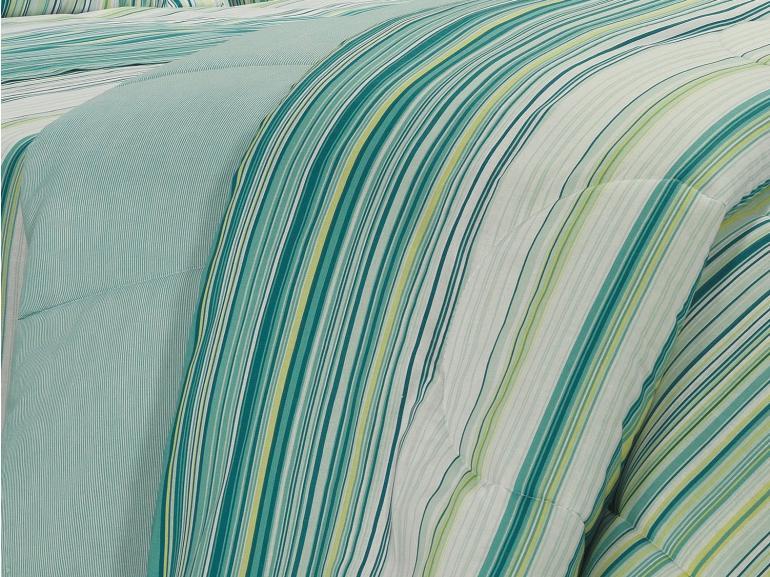 Edredom Casal 150 fios - Doha Marine - Dui Design