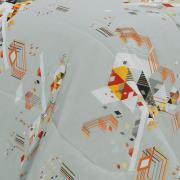 Jogo de Cama King 150 fios - Draco Cinza - Dui Design