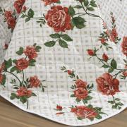 Kit: 1 Cobre-leito Queen + 2 Portas-travesseiro 150 fios - Eleonor - Teka