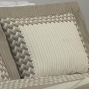Jogo de Cama Casal Cetim 300 fios - Empire Taupe - Dui Design