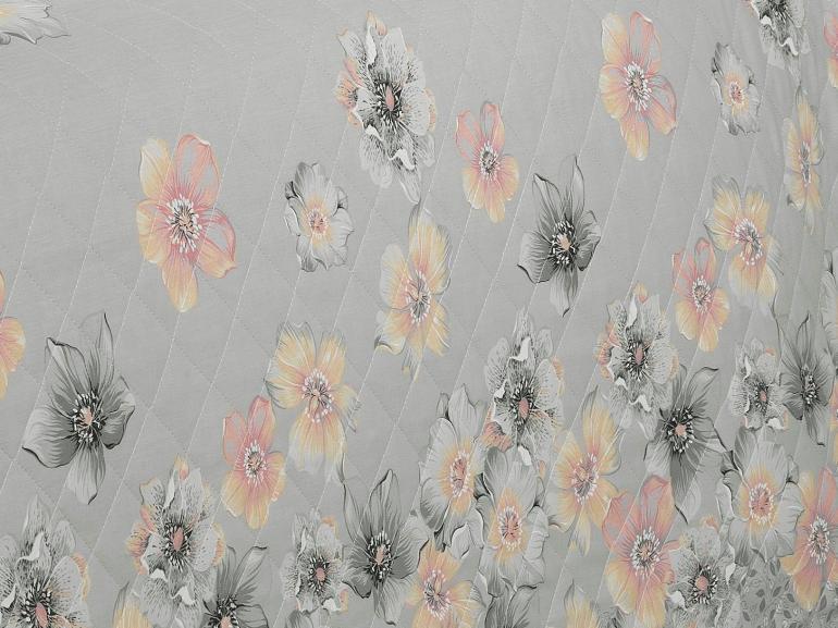 Enxoval Casal com Cobre-leito 7 peças 150 fios - Erica Cinza - Dui Design
