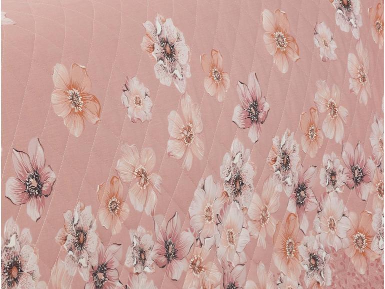 Enxoval Casal com Cobre-leito 7 peças 150 fios - Erica Rosa - Dui Design