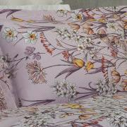 Jogo de Cama Queen 150 fios - Estefania Lilás - Dui Design