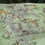 Jogo de Cama Queen 150 fios - Estefania Verde - Dui Design