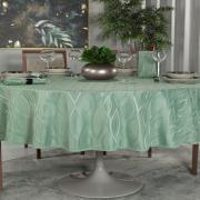 Toalha de Mesa Fácil de Limpar Redonda 220cm - Fenix Confrei - Dui Design