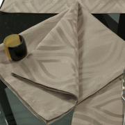 Kit: 4 Guardanapos 50x50cm - Fenix Noz Moscada - Dui Design