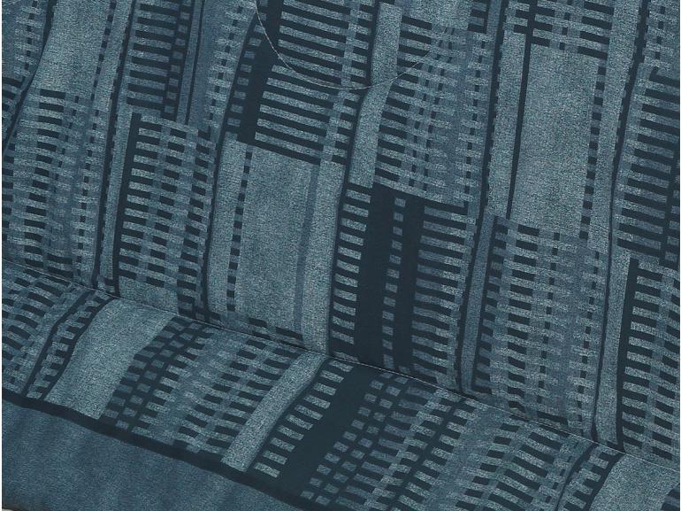 Jogo de Cama Casal Percal 180 fios - Flash Azul - Dui Design