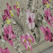 Jogo de Cama Queen Percal 180 fios - Flora Stone - Dui Design
