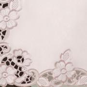 Trilho de Mesa com Bordado Richelieu 45x170cm Avulso - Francine Rosa Velho - Dui Design