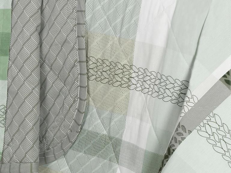Kit: 1 Cobre-leito Casal + 2 Porta-travesseiros Percal 200 fios - Franco Confrei - Dui Design