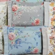 Fronha Avulsa Percal 200 fios 100% Algodão - Floral - Dui Design