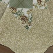 Kit: 1 Cobre-leito Casal Bouti de Microfibra Ultrasonic Estampada + 2 Porta-travesseiros - Gabi Castanho - Dui Design
