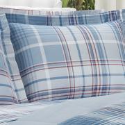 Jogo de Cama Solteiro 150 fios - Gales Azul - Dui Design