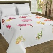 Cobertor Avulso King Flanelado com Estampa Digital - Garden - Dui Design