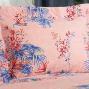 Kit: 1 Cobre-leito King + 2 Porta-travesseiros 150 fios - Havana Nude - Dui Design