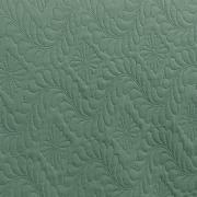 Kit: 1 Cobre-leito King Bouti de Microfibra Ultrasonic + 2 Porta-travesseiros - Haven Verde e Confrei - Dui Design