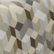 Jogo de Cama Queen 150 fios - Henry Taupe - Dui Design