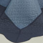 Kit: 1 Cobre-leito Solteiro Bouti de Microfibra Ultrasonic + 1 Porta-travesseiro - Horus Jeans - Dui Design