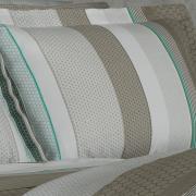 Jogo de Cama Queen Percal 180 fios - Hunter Taupe - Dui Design