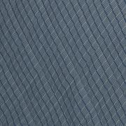 Kit: 1 Cobre-leito Casal + 2 Porta-travesseiros Percal 200 fios - Ipsum 1 Indigo - Dui Design