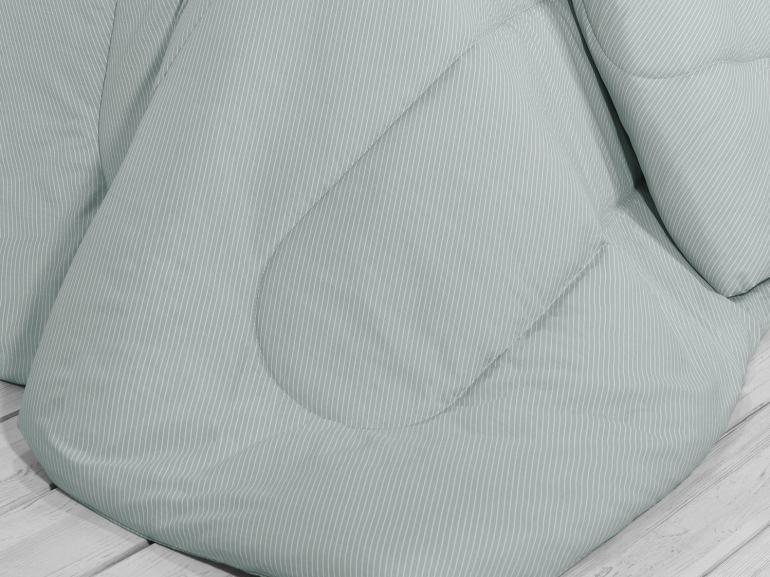 Edredom Casal Percal 200 fios - Ipsum Cinza - Dui Design