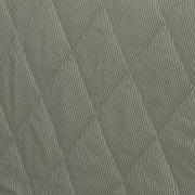Kit: 1 Cobre-leito Solteiro + 1 Porta-travesseiro Percal 200 fios - Ipsum Taupe - Dui Design