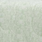 Edredom Casal Percal 200 fios - Ipsum Verde Celadon - Dui Design