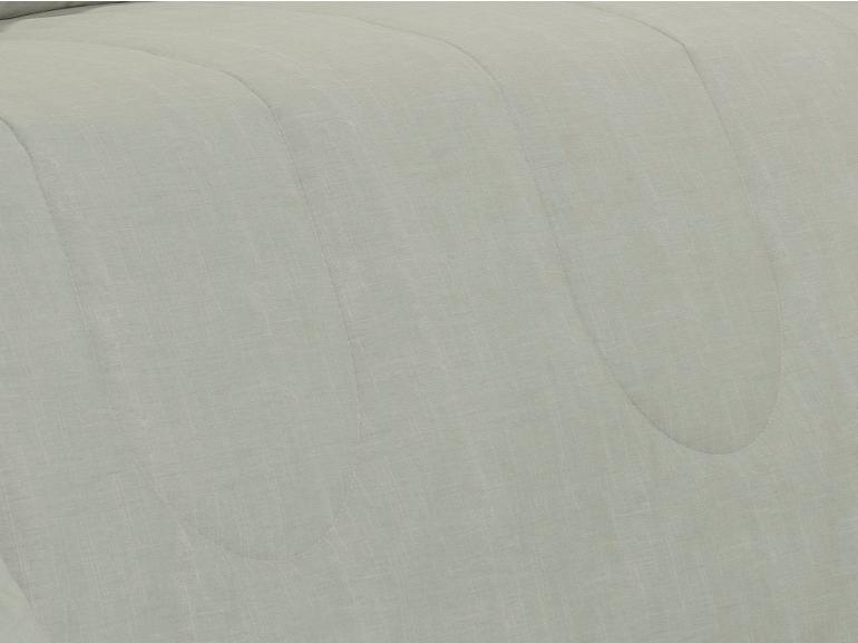 Edredom Solteiro Percal 200 fios - Ipsum Bege - Dui Design
