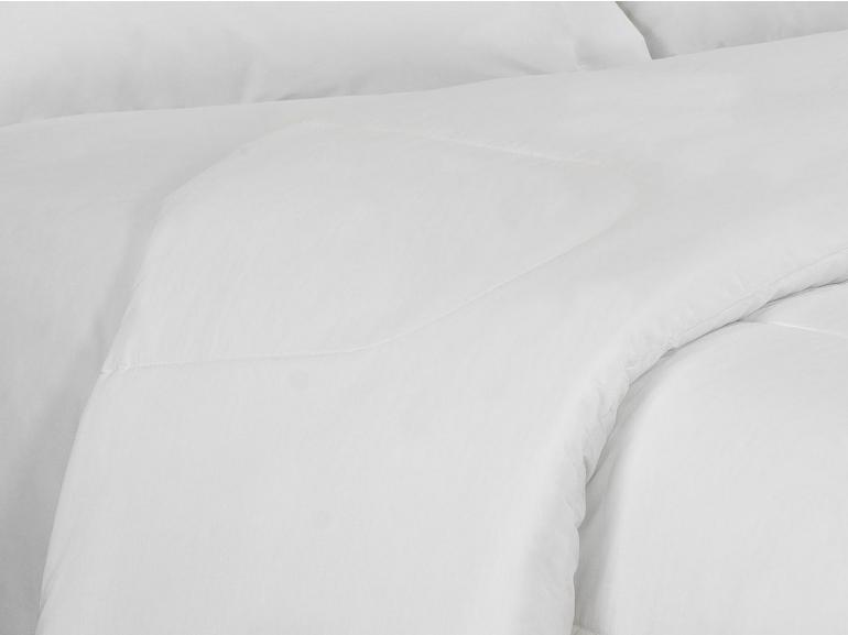 Edredom Solteiro Percal 200 fios - Ipsum Branco - Dui Design
