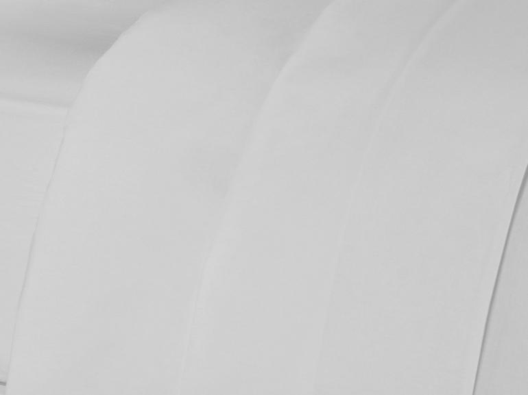 Jogo de Cama Queen Percal 200 fios 100% Algodão - Ipsum Branco - Dui Design