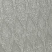 Kit: 1 Cobre-leito Solteiro + 1 Porta-travesseiro Percal 200 fios - Ipsum Cinza - Dui Design