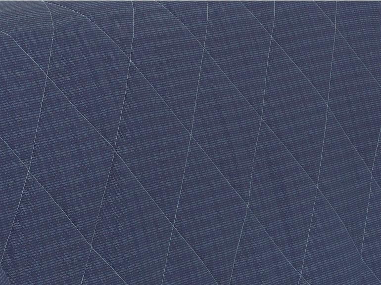 Enxoval King com Cobre-leito 7 peças Percal 200 fios - Ipsum Indigo - Dui Design